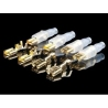 Oyaide FTL-G 24K gold fastons 8 pieces