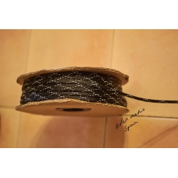 Expandable Braided Cable Sleeving 8mm Black
