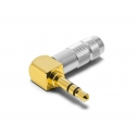 Oyaide P-3.5GL Jack 3.5mm stereo Gold