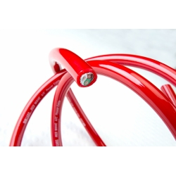 DH-Labs RED WAVE PREMIUM A/C POWER CABLE -Price per linear metre