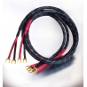 DH-Labs Silver Sonic Q-10 Speaker cable 2 x 2.5m spades