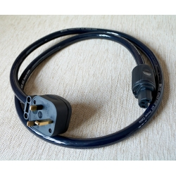 DH Labs Power Plus Mains Power Cable with MS HD Power Plugs 150cm