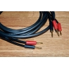 Purefonics - The Jolly Roger 2 x 2.5M High Purity 6N OFC Speaker Cables