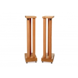 Hi-Fi Racks Podium Speaker Stands in Oak